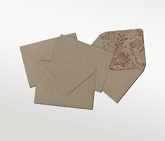 מעטפות חומות משולשות 13X19