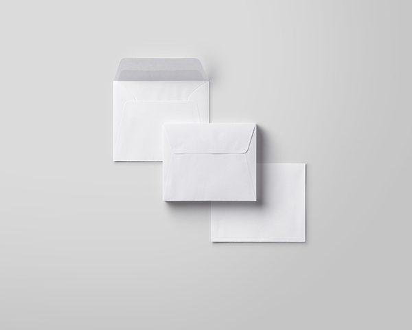 מעטפות לבנות 16X16