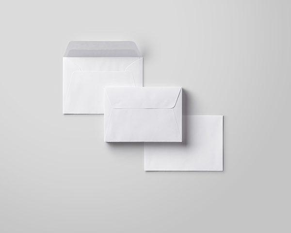 מעטפות לבנות 19X13